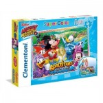 Clementoni-25457 Puzzle Géant de Sol - Mickey