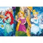 Clementoni-26416 Pièces XXL - Disney Princess