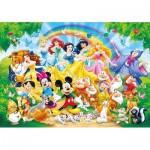 Clementoni-26952 Disney Family