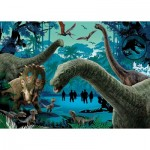 Clementoni-27098 Jurassic World