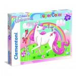 Clementoni-27109 I Believe in Unicorns