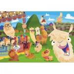 Clementoni-27279 Lama-Supercolor Puzzle