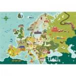 Clementoni-29062 Exploring Maps : Europe - Monuments