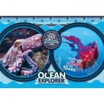Clementoni-29205 National Geo Kids - Ocean Expedition