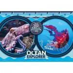 Clementoni-29205 National Geo Kids - Ocean Expedition