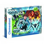 Clementoni-30442 Turbo Team-up Max Steel