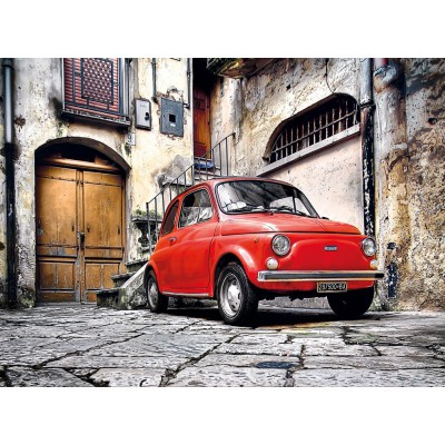 Clementoni-30575 Fiat 500