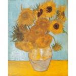 Clementoni-31438 Van Gogh : Les Tournesols
