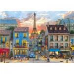 Clementoni-31679 Dominic Davison - Rue des Paris