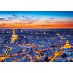 Clementoni-31815 Vue de Paris
