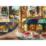 Clementoni-33530 Village fleuri