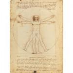 Clementoni-35001 Léonard De Vinci : L'Homme de Vitruve