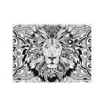 Clementoni-35051 3D Colour Therapy Puzzle - Lion