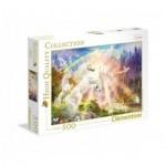 Clementoni-35054 Licornes au Lever du Soleil