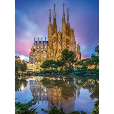 Clementoni-35062 Sagrada Familia, Barcelone