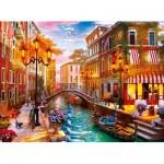 Clementoni-35063 Coucher de Soleil sur Venise