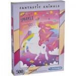 Clementoni-35066 Fantastic Animals - Licorne