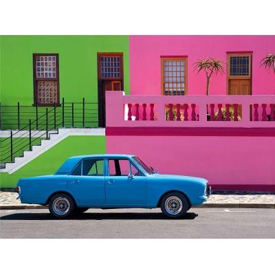 Clementoni-35076 The Blue Car