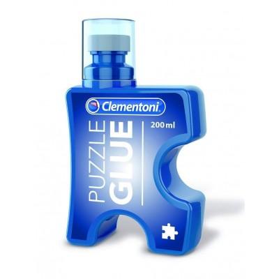 Clementoni-37000 Colle pour 3 Puzzles 1000 Pièces