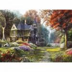 Clementoni-39172 Belle demeure dans un Jardin Victorien
