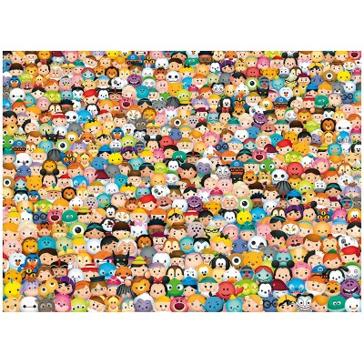 Clementoni-39363 Disney Tsum Tsum - Impossible Puzzle!