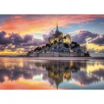 Clementoni-39367 Mont Saint-Michel