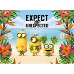 Clementoni-39374 Minions - Expect the Unexpected