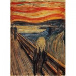 Clementoni-39377 Munch Edvard - Le Cri
