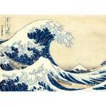Clementoni-39378 Hokusai : La Vague