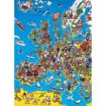 Clementoni-39384 Carte de l'Europe