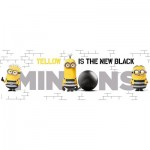 Clementoni-39409 Minions - Yellow is the New Black