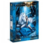 Clementoni-39462 Anne Stockes - Lune Bleue