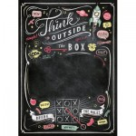 Clementoni-39468 Puzzle Tableau Noir - Think Outside the Box