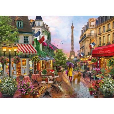 Clementoni-39482 Fleurs à Paris