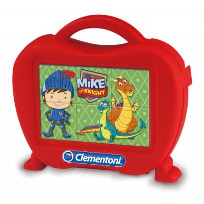 Clementoni-40652 Puzzle Cubes - Mike le Chevalier
