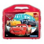 Clementoni-41185 Puzzle Cubes - Cars