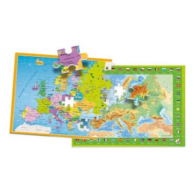 Clementoni-50020 Carte de l'Europe