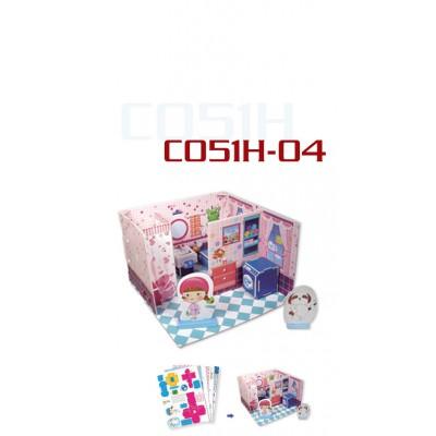 Cubic-Fun-C051-04H Puzzle 3D - Honey Room : Salle de Bain (Difficulté : 3/8)