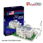 Cubic-Fun-C060H Puzzle 3D - Washington : La Maison Blanche