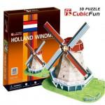 Cubic-Fun-C089H Puzzle 3D - Moulin hollandais