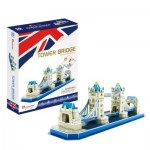 Cubic-Fun-C238h Puzzle 3D - Tower Bridge - Difficulté: 4/8