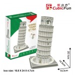 Cubic-Fun-C241h Puzzle 3D - Tour de Pise, Italie - Difficulté : 4/8