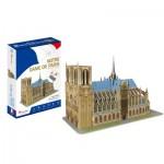 Cubic-Fun-C242h Puzzle 3D - Notre Dame de Paris - Difficulté: 4/8