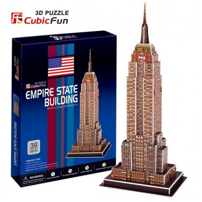 Cubic-Fun-C704H Puzzle 3D - New York : Empire State Building