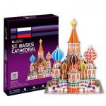 Cubic-Fun-C707H Puzzle 3D - Russie, Moscou : Cathédrale Saint-Basile-le-Bienheureux