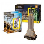 Cubic-Fun-DS0977h Puzzle 3D - Empire State Building (Difficulté : 6/8)