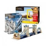 Cubic-Fun-DS0978h Puzzle 3D - Tower Bridge, Londres - Difficulté : 6/8