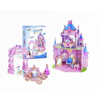 Cubic-Fun-E1623H Puzzle 3D - Princess Secret Garden