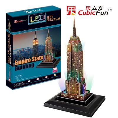Cubic-Fun-L503H Puzzle 3D avec LED - Empire State Building