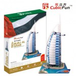 Cubic-Fun-MC101H Puzzle 3D - Dubai, Burj Al Arab (Difficulté : 7/8)